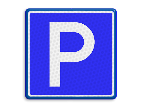Parkeer P bord